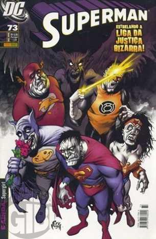 Superman [Panini - 1ª série] nº 073 dez/2008