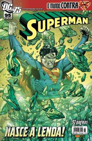 Superman [Panini - 1ª série] nº 095 out/2010