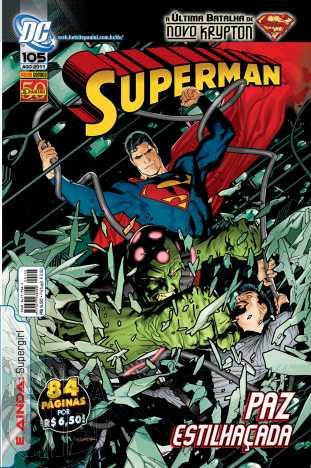 Superman [Panini - 1ª série] nº 105 ago/2011