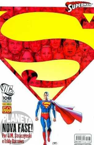 Superman [Panini - 1ª série] nº 108 nov/2011