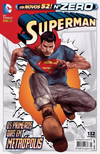 Superman [Panini - 2ª série - Os Novos 52] nº 000 (zero) jun/2013 - Os Novos 52!