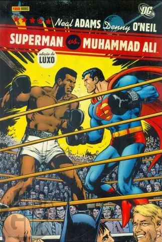 Superman vs. Muhammad Ali - Edição de Luxo - Capa Dura Lacrado