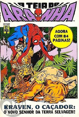 Teia do Aranha [Abril - 1ª série] nº 018 mar/1991 - Viagem à Terra Selvagem