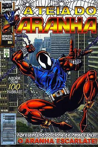 Teia do Aranha [Abril - 1ª série] nº 089 mar/1997 - A Origem do Clone