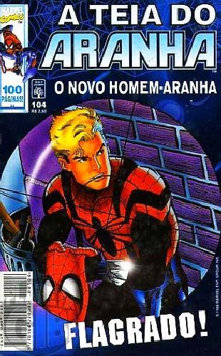 Teia do Aranha [Abril - 1ª série] nº 104 jun/1998
