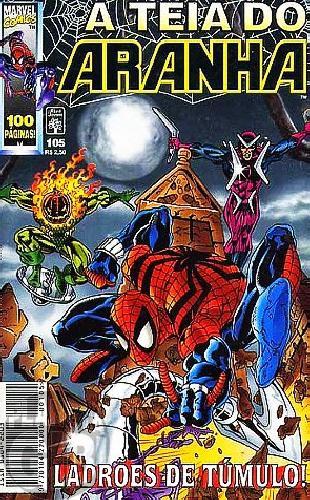 Teia do Aranha [Abril - 1ª série] nº 105 jul/1998