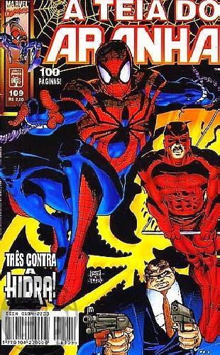 Teia do Aranha [Abril - 1ª série] nº 109 nov/1998