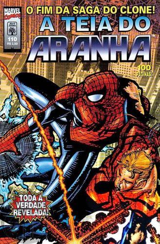 Teia do Aranha [Abril - 1ª série] nº 110 dez/1998 - O Fim da Saga do Clone