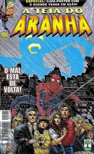 Teia do Aranha [Abril - 1ª série] nº 115 mai/1999