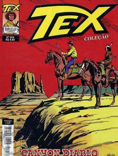Tex Coleção nº 234 jul/06 - Canyon Diablo