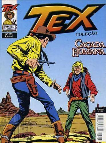 Tex Coleção nº 235 ago/06 - Caçada Humana