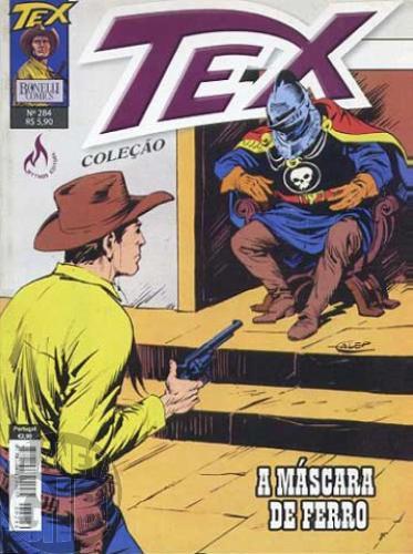 Tex Coleção nº 284 set/10 - A Máscara de Ferro
