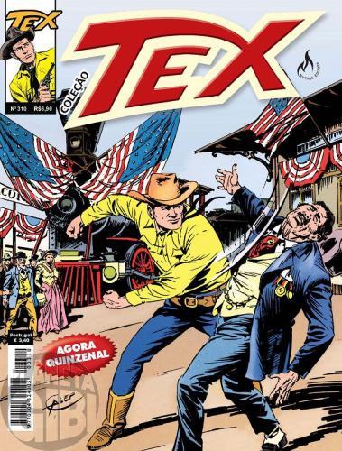 Tex Coleção nº 310  jun/12