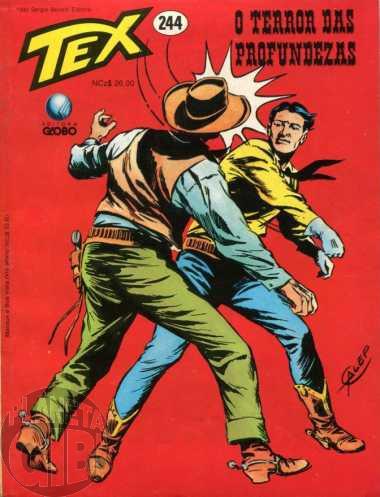 Tex nº 244 fev/1990 - O Terror das Profundezas