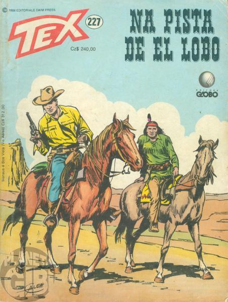 Tex nº 227 set/1988 - Na Pista de El Lobo