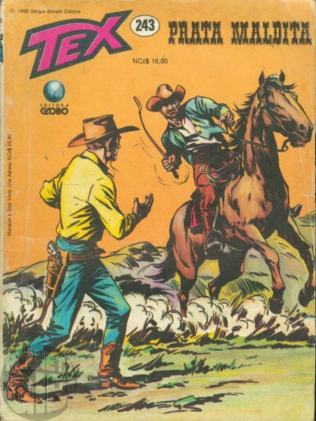 Tex nº 243 jan/1990 - Prata Maldita