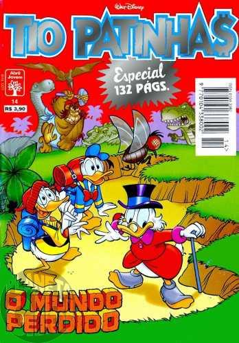 Tio Patinhas Especial nº 014 dez/1996 - O Mundo Perdido - Vide detallhes
