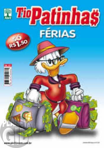 Tio Patinhas Férias nº 001 dez/2008