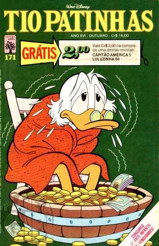 Tio Patinhas nº 171 out/1979 - Vide detalhes