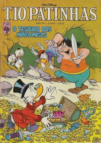 Tio Patinhas nº 179 jun/1980