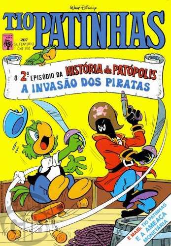 Tio Patinhas nº 207 set/1982