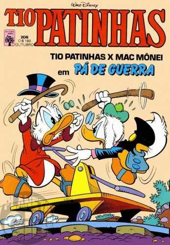Tio Patinhas nº 208 out/1982