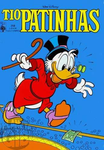 Tio Patinhas nº 258 nov/1986