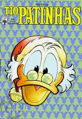 Tio Patinhas nº 259 dez/1986