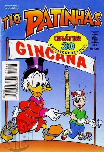 Tio Patinhas nº 361 ago/1995 - O Colecionador