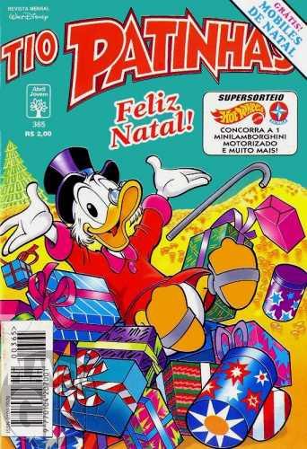 Tio Patinhas nº 365 dez/1995 - O Espírito de Natal