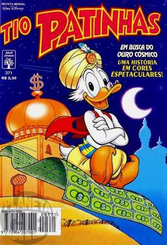 Tio Patinhas nº 371 jun/1996 - Em Busca do Ouro Cósmico