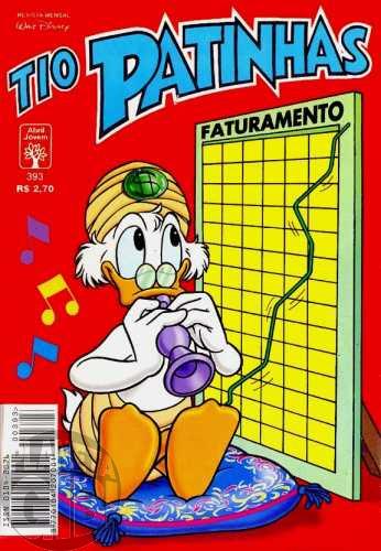 Tio Patinhas nº 393 abr/1998