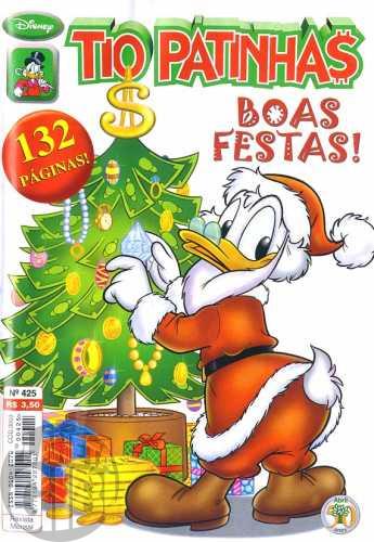 Tio Patinhas nº 425 dez/2000