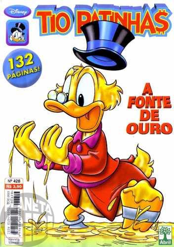 Tio Patinhas nº 428 mar/2001 - Nascente de Ouro