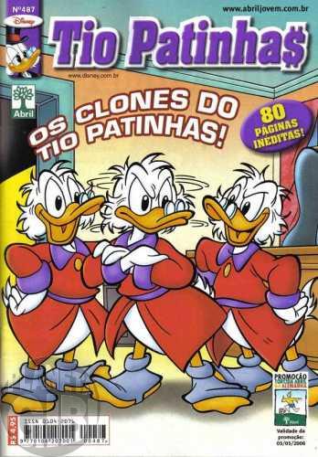 Tio Patinhas nº 487 fev/2006 - Vide detalhes