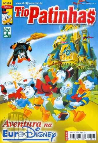 Tio Patinhas nº 528 jul/2009 - Aventura na Euro Disney