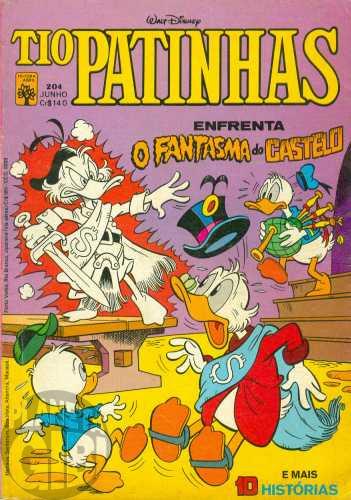 Tio Patinhas nº 204 jun/1982