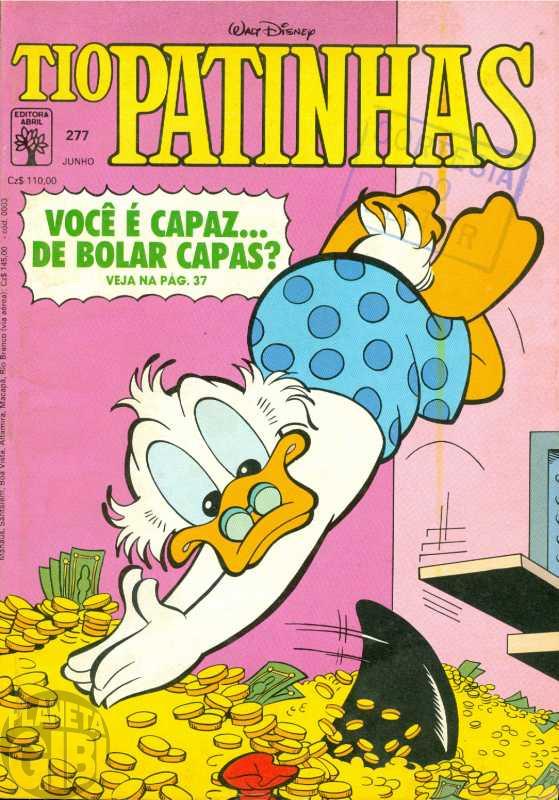 Tio Patinhas nº 277 jun/1988