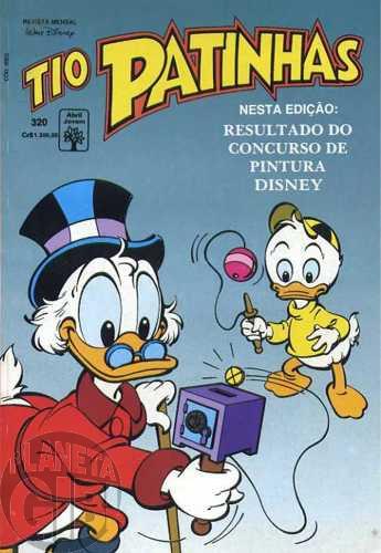 Tio Patinhas nº 320 jan/1992