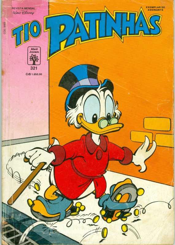 Tio Patinhas nº 321 fev/1992 - Edição Setorizada - Vide detalhes