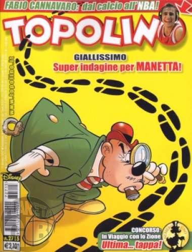 Topolino nº 2715 dez/2007