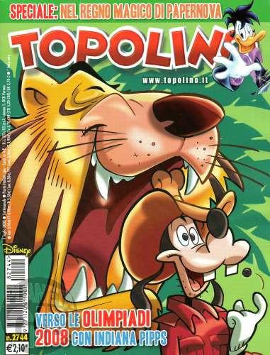 Topolino nº 2744 jul/2008