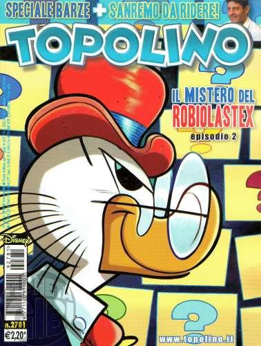 Topolino nº 2781 mar/2009