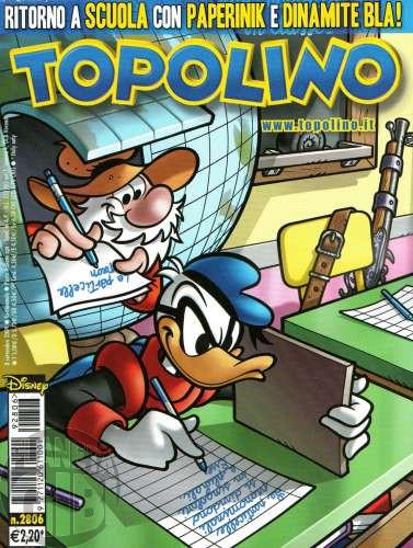 Topolino nº 2806 set/2009 - Paperinik