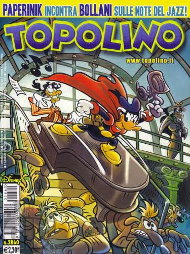 Topolino nº 2860 set/2010 - Paperinik