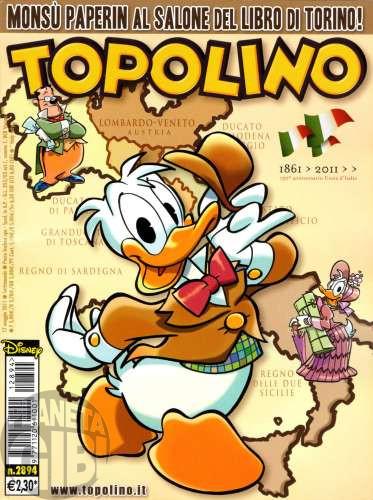 Topolino nº 2894 mai/2011 - Paperinik