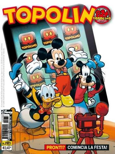 Topolino nº 2973 nov/2012 - Fantomius - Casty: Gli Ombronauti