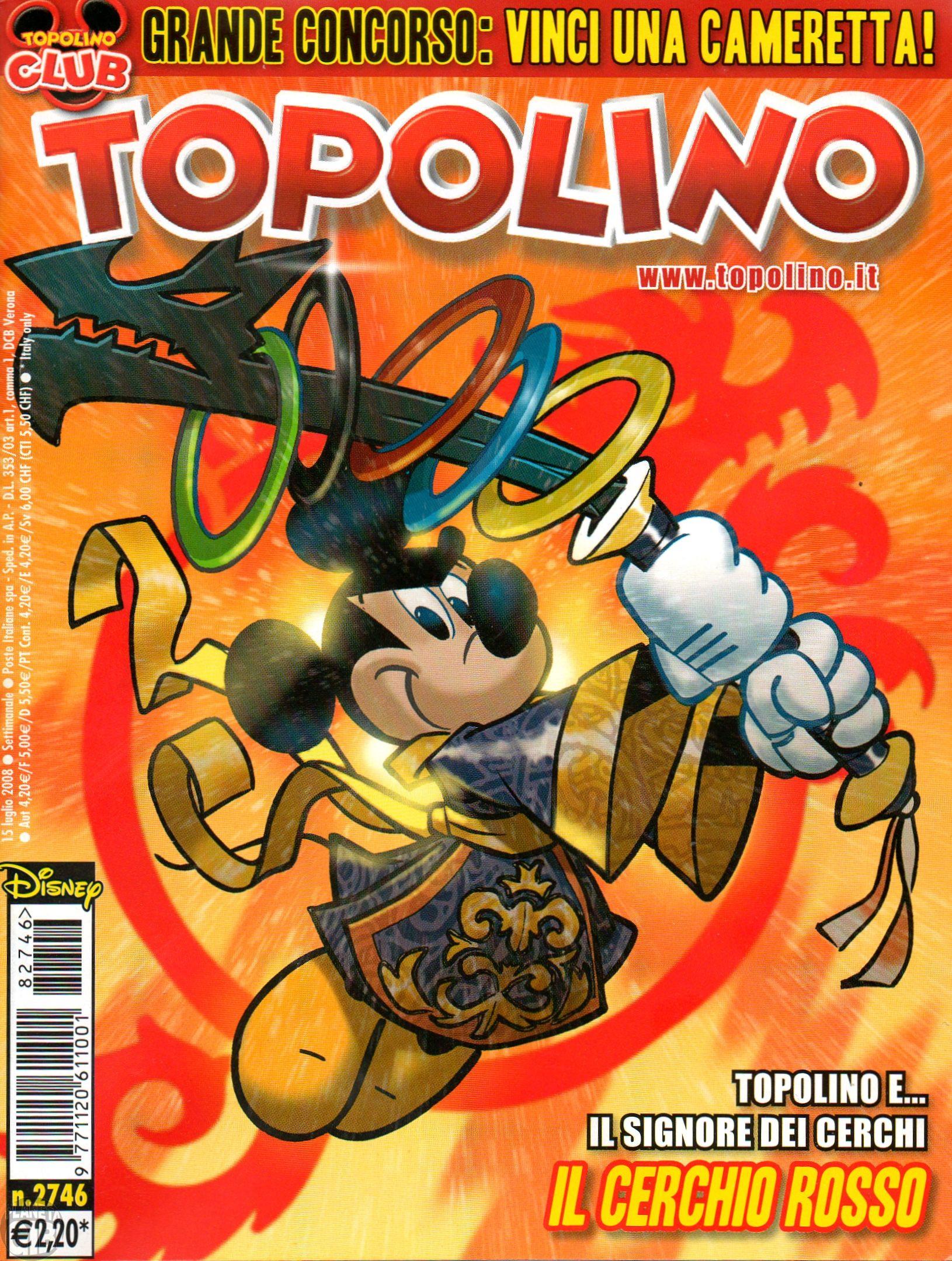 Topolino nº 2746 jul/2008