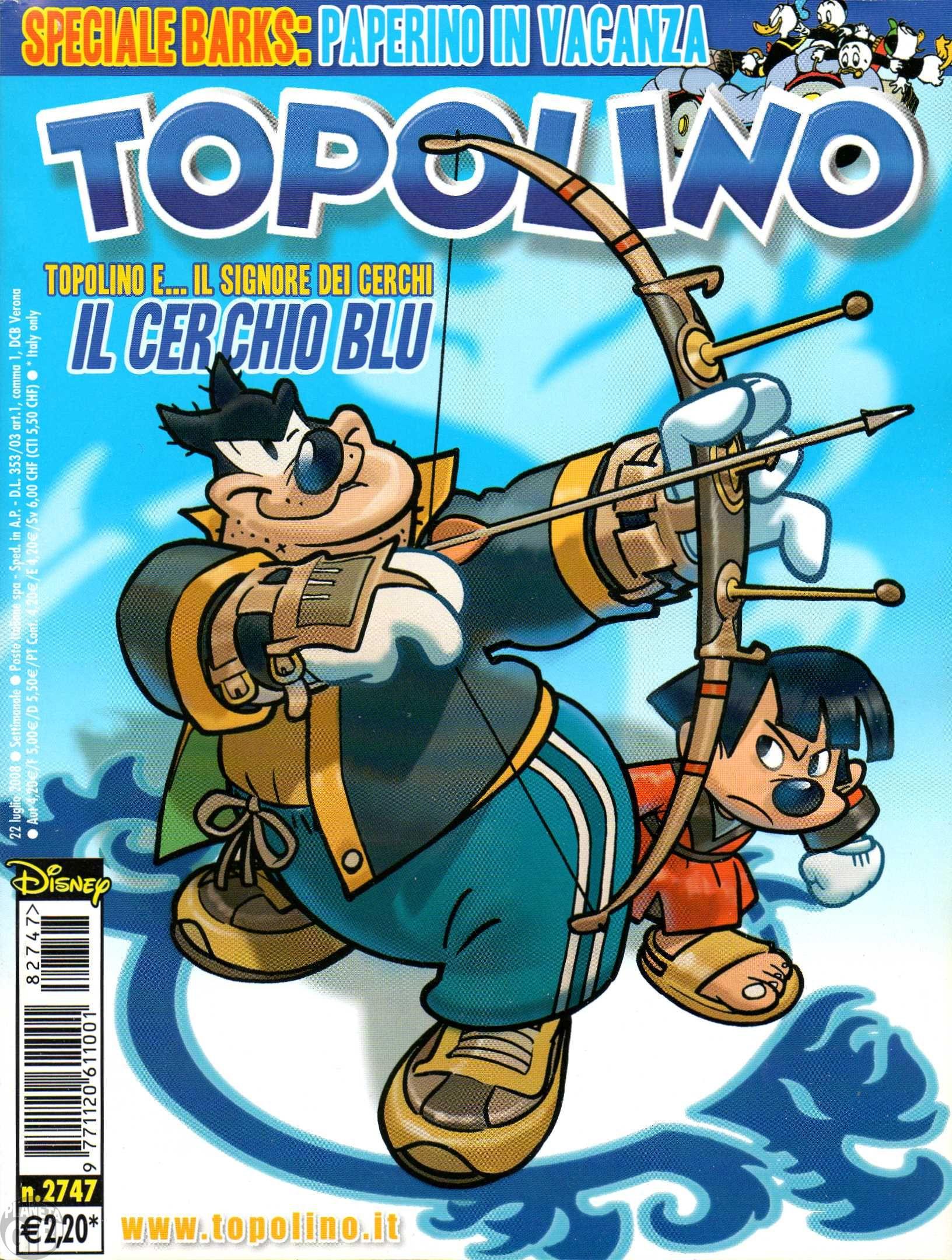 Topolino nº 2747 jul/2008