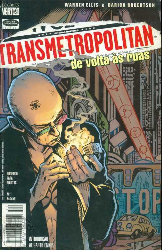 Transmetropolitan [Tudo em Quadrinhos] nº 001 mar/1999 - De Volta às Ruas